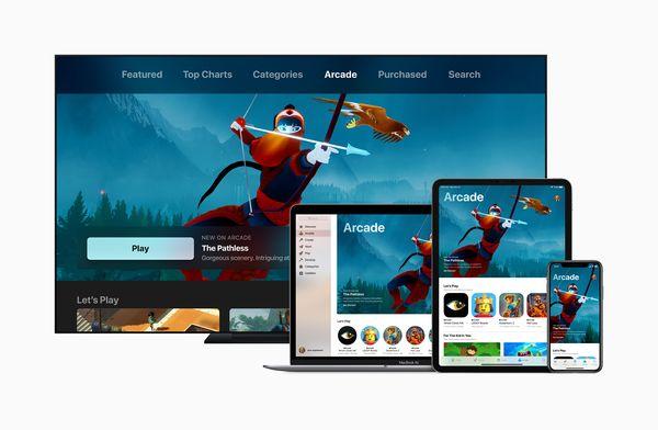 Apple Arcade -pelejä voi pelata useilla eri Applen laitteilla.