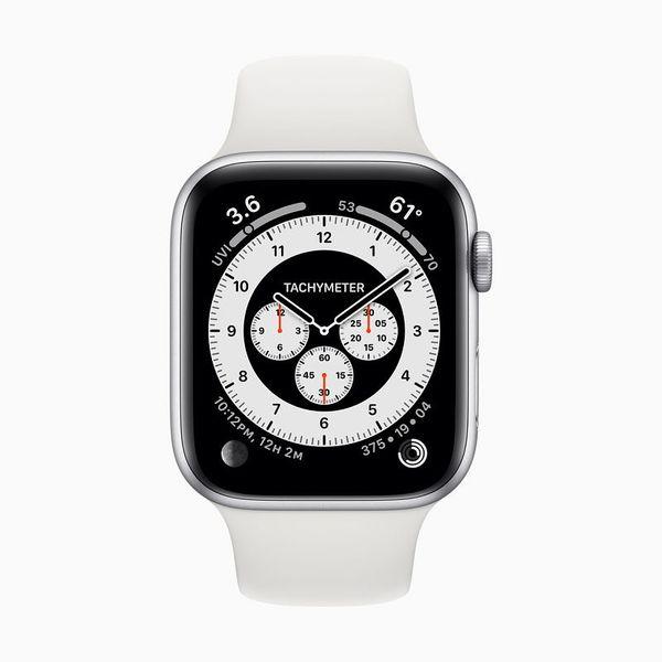 Apple Watch saa myös takometrillä varustetun uutuuskellotaulun.