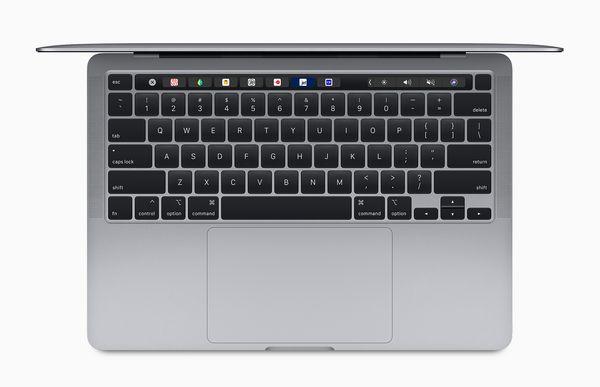 13 tuuman MacBook Pro sisältää nyt saksirakenteisen Magic Keyboard -näppäimistön.