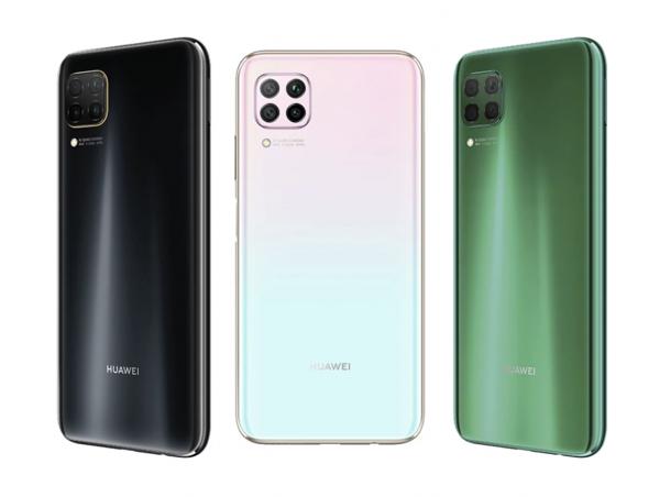 Huawei P40 liten värivaihtoehdot.