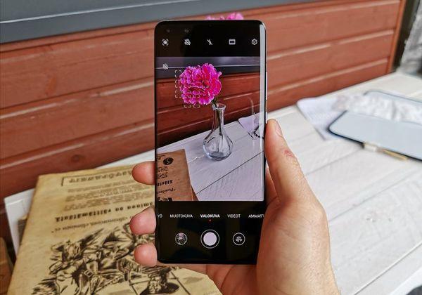Kameran käyttäminen on Huawei-käyttäjille tuttua, vaikka uusia ominaisuuksiakin on runsaasti.