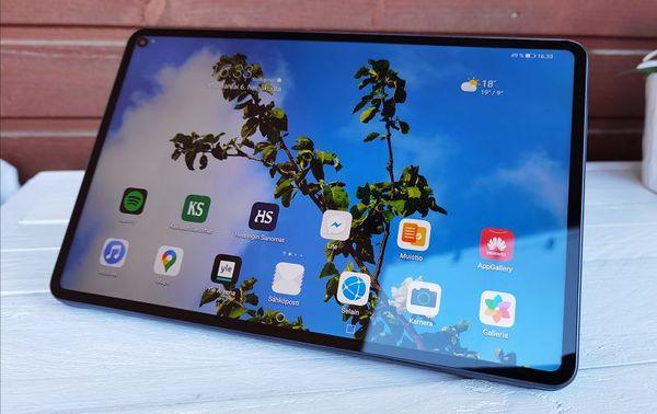 Huawei MatePad Pro on teknisesti vakuuttava pakkaus.