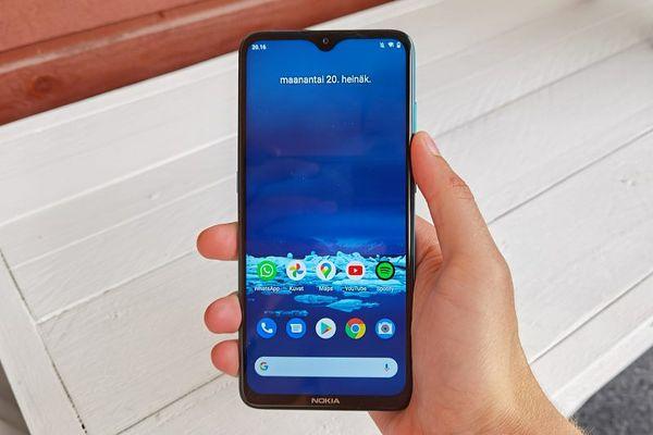 Nokia 5.3 on hyvä älypuhelin alle 200 eurolla.