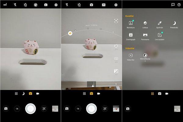 Käyttöliittymä on helppokäyttöinen ja tuttu aiempien Motorola-älypuhelinten omistajille.