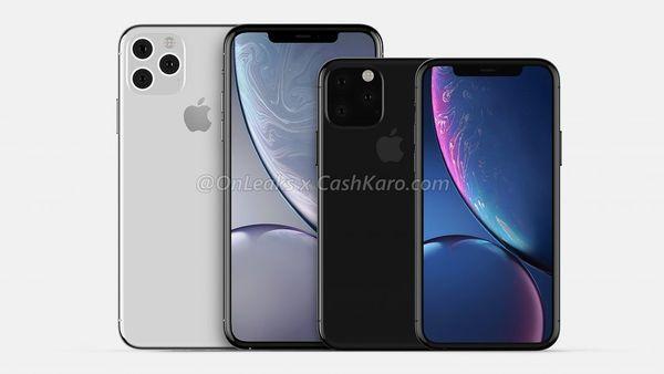 iPhone XS ja iPhone XS -mallien seuraajat. Kuva: OnLeaks / CashKaro.