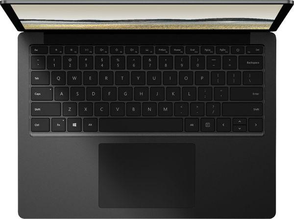 Sisältä metallipintainen pienempi Surface Laptop 3.