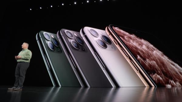 iPhone 11 Pro -värit.