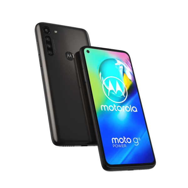 Motorola Moto G8 Power, Smoke Black.