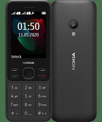 Musta Nokia 150.