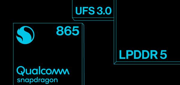 OnePlus 8 -puhelimissa on Qualcomm Snapdragon 865 -järjestelmäpiiri, LPDDR5-tyypin RAM-käyttömuistia sekä UFS 3.0 -tallennusmuistia.