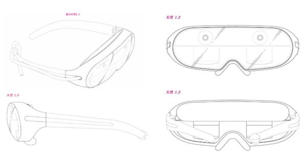 Patentin perusteella voidaan päätellä joitakin lasien yksityiskohtia.