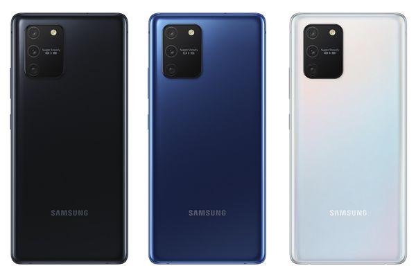 Samsung Galaxy S10 Liten värivaihtoehdot.