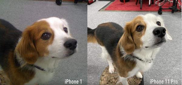 iPhonejen kamerat vertailussa.