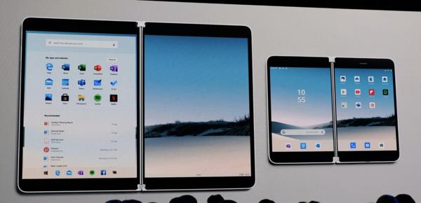 Surface Neo ja Surface Duo.