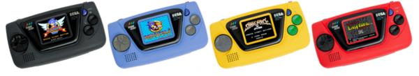 Jokainen väri sisältää erilaisen pelivalikoiman.
