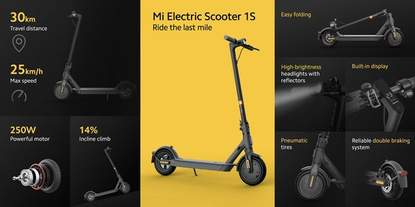 Mi Electric Scooter 1S.