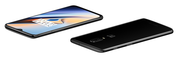 OnePlus 6T Mirror Black.