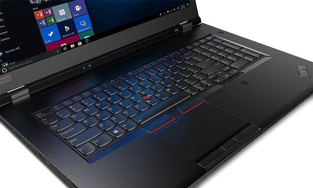 ThinkPad P73 on malliston kookkain.