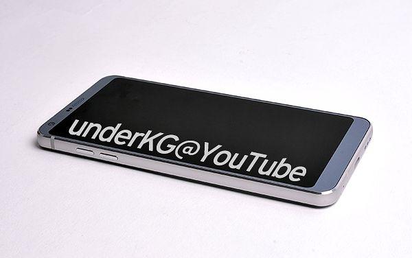LG G6 underKG:n aiemmin julkaisemassa vuotokuvassa.