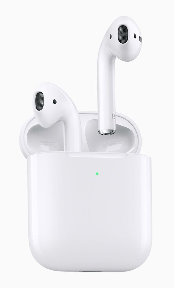 Ulkoisesti AirPods-kuulokkeet ovat käytännössä ennallaan.