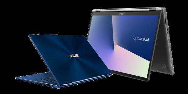 Asus ZenBook Flip 13 ja Flip 15.