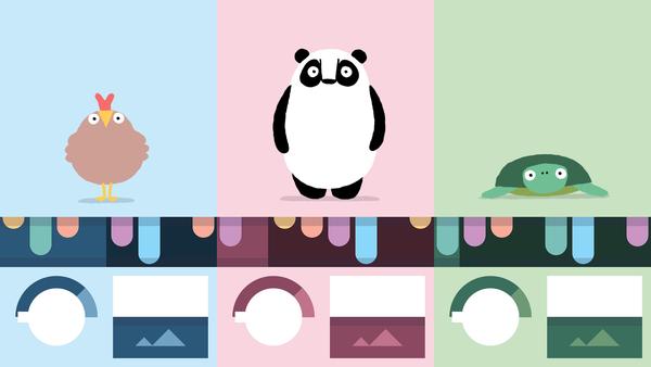 Bandimalin yksinkertainen käyttöliittymä on omiaan myös perheen pienimmille.