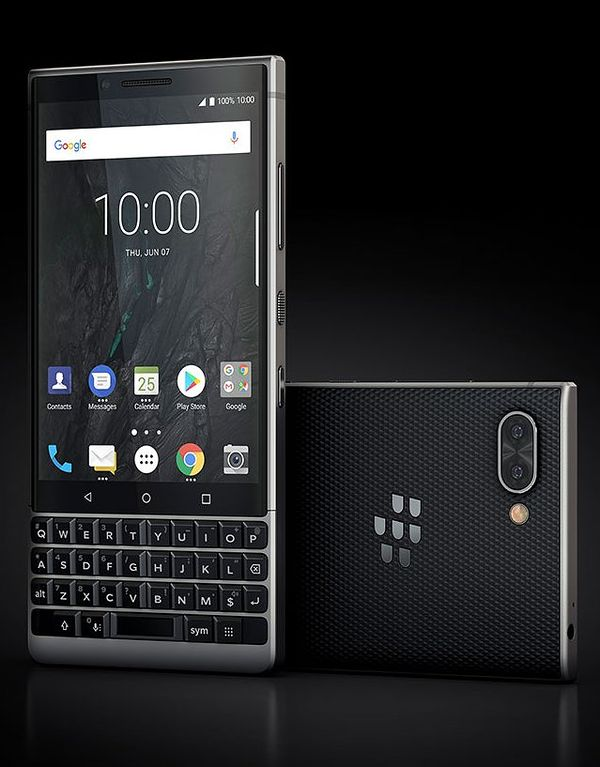 BlackBerry Key2 mustaharmaana.