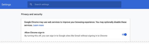 Myös Google-tilille kirjautumista voi vastedes säädellä tarkemmin.