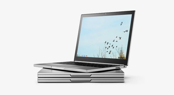 Chromebookista löytyy edelleen myös muistikorttipaikka.