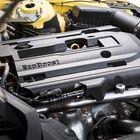 Pellin alta löytyy sama 2,3-litrainen turbonelikko, joka on myös myöhemmin markkinoille tulevan uuden Focus RS:n voimanlähteenä. Moottori on oiva arkikumppani, mutta äänimaailmassa on hiomista.