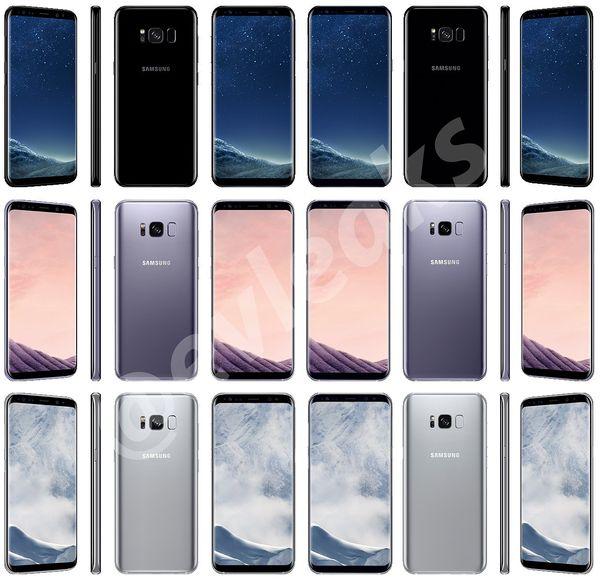Samsung Galaxy S8 -aiemmassa Evan Blassin vuotamassa kuvassa.
