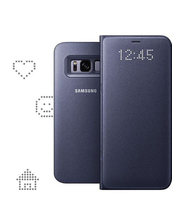 Galaxy S8 LED View Cover.