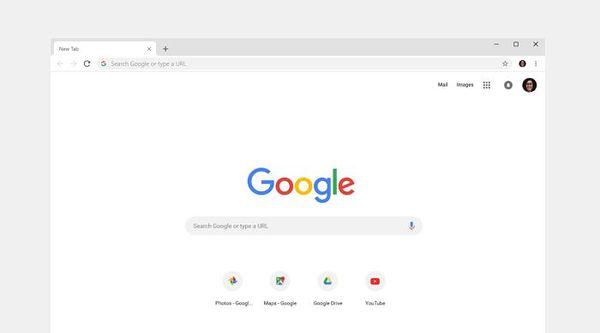 Chrome muuttuu ulkoiselta olemukseltaan myös tietokoneella.