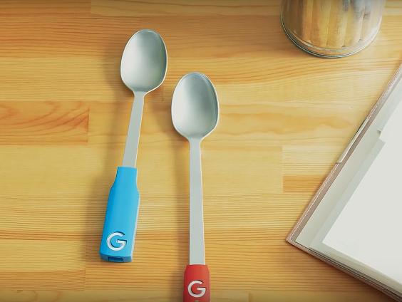 Kirjoittamisen mahdollistava Gboard Spoon-lusikka Japanin Googlelta.