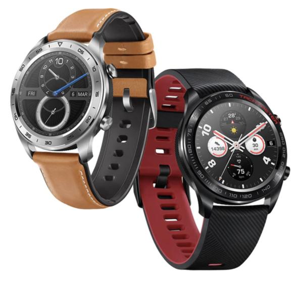 Honor Watch Magicin Suomessa myyntiin tulevat värit.