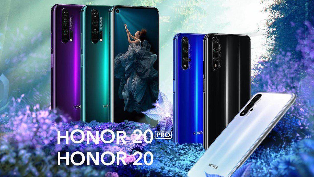 Honor 20 Pro ja Honor 20.