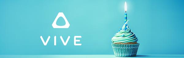 HTC Vive juhlii syntymäpäiviään.