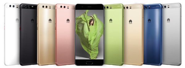 Huawei P10 tarjoaa laajasti eri värejä, joista kaikki eivät kuitenkaan saavu myyntiin Suomessa.