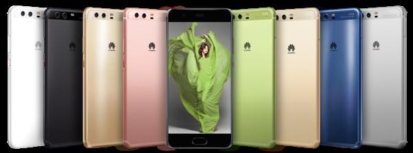 Huawei P10:ssä uutta ovat lähinnä värit.