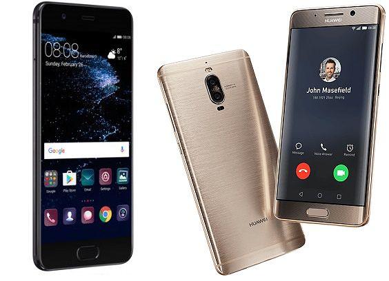 Huawei P10 Plus ja Mate 9 PRo.