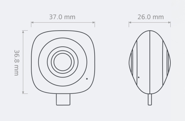 EnVizion 360 on melko pienikokoinen.