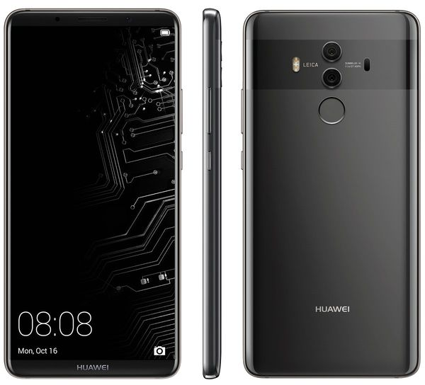 Huawei Mate 10 Pro. Evan Blassin vuotamat lehdistökuvat.