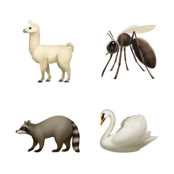 Myös uusia eläinemojeja on tulossa, ja ensi kesänä vaikkapa itikoiden ihanuudesta voi viestiä emojein.