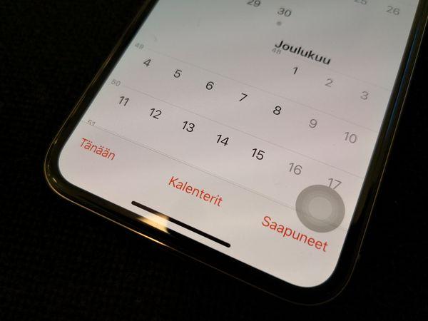 AssistiveTouch tuo virtuaalipainikkeen iPhonen näytölle.