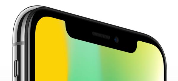 Näytön lovi on iPhone X:n designin eniten huomiota kiinnittävä ja puhuttanut yksityiskohta.