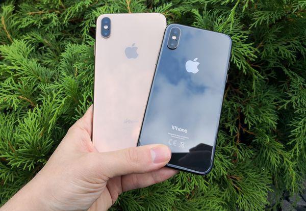 iPhone XS Max ja iPhone XS ovat takakameroiltaan täysin identtiset.