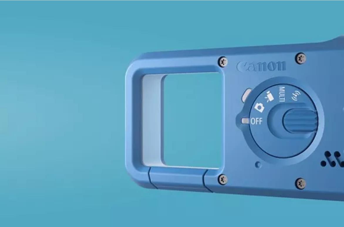 Kameraa ohjastetaan takaosan kytkimellä.