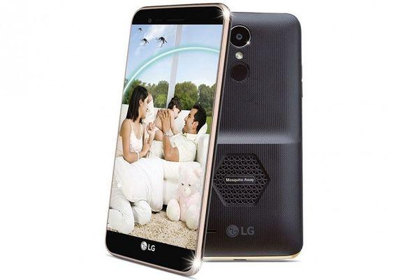 LG:n mukaan K7i on markkinoiden ensimmäinen hyttysiä karkoittava puhelin. Halutessaan puhelimesta voi myös irroittaa takakuoren paksuutta lisäävän ultraäänikaiuttimen, jolloin K7i toimii normaalin halvemman hintaluokan puhelimen tapaan.