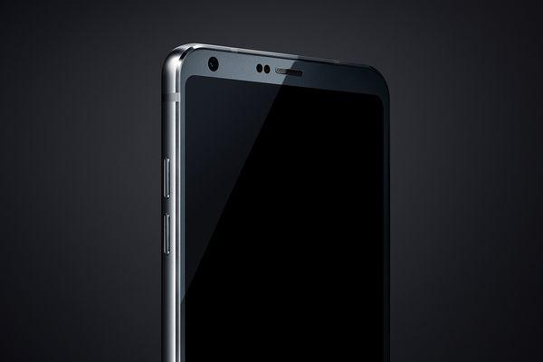 LG G6 The Vergen aiemmin julkaisemassa lehdistökuvassa.