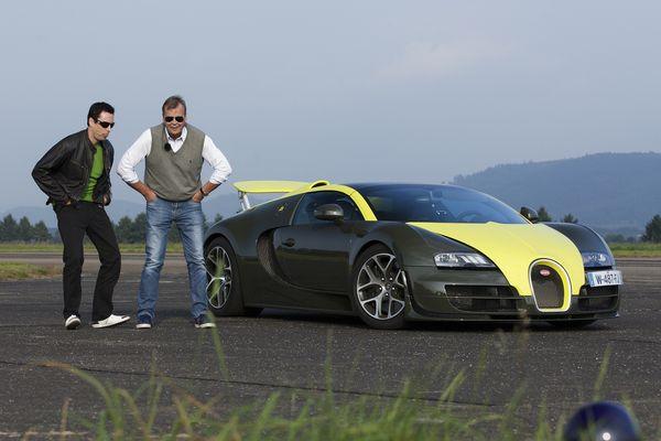 Markku Alén testasi Bugatti Veyronin Teknavin 9. tuotantokauden avausjaksossa, jonka ensiesitys oli MTV3:lla 11. maaliskuuta.